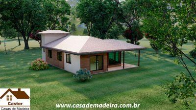 casa de madeira cuba