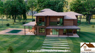 casa de madeira inglaterra