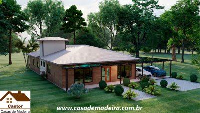 casa de madeira polonia