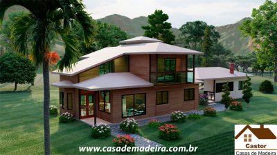 casa de madeira viena