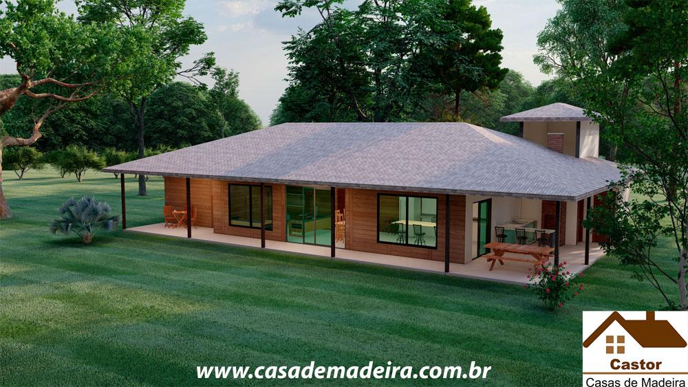 casa de madeira argentina