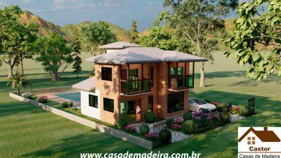 casa de madeira grecia