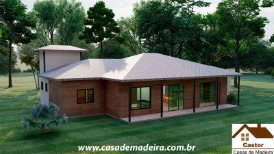 casa de madeira chile