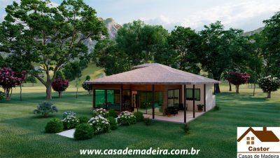 casa de madeira colombia