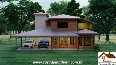 casa de madeira croacia