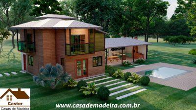 casa de madeira dubai