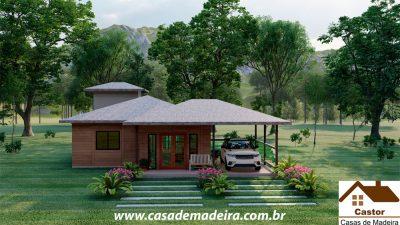 casa de madeira espanha