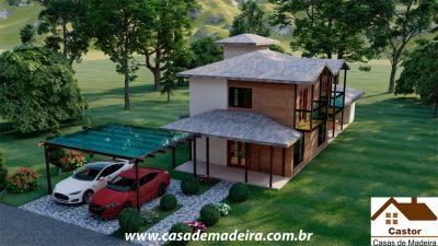 casa de madeira miami