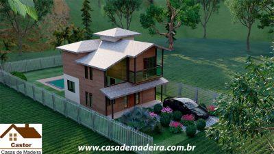 casa de madeira moscou