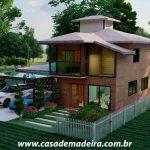 casa de madeira suica