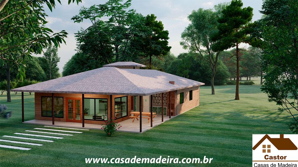 casa de madeira texas