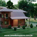 casa de madeira show room
